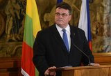 Linas Linkevičius: Rusija Sirijoje bando didinti savo svarbą sprendžiant konfliktus