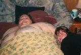 Amerikiečių pora 11 metų bandė numesti svorį, kad galėtų pasimylėti