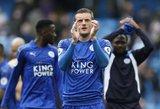 """""""Leicester City"""" triumfavo Kardife, """"West Ham"""" mušė keturis kartus"""
