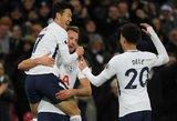 """Atsitiesė: """"Tottenham Hotspur"""" įmušė penkis įvarčius"""