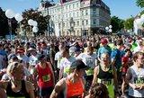 Kelią bėgikams! Tokio vaizdo kasdien nepamatysi