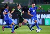 "Vokietijoje – ""Wolfsburg"" ir ""Hoffenheim"" lygiosios"