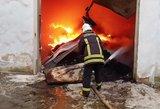 Chaosas dėl gaisro Alytuje: nutraukiami autobusų maršrutai, nutrauktas vandens tiekimas
