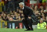 Jose Mourinho šou: pažemintas treneris išaukštino save spaudos konferencijoje