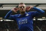"""""""Leicester City"""" pergalingai pasitinka naują trenerį, """"Everton"""" švenčia Velse"""