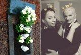 Mirusio Antonovienės kūdikio kapą niokoja vandalai: išliejo skausmą