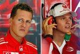 """Greičiausio pasaulio lenktynininko sūnus: """"Būti Schumacheriu – sudėtinga"""""""