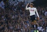 """Triuškinanti """"Tottenham Hotspur"""" pergalė pažymėta neįtikėtinu D. Alli įvarčiu"""