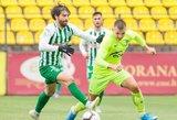 Vilniaus futbolo grandų mūšis baigėsi lygiosiomis