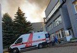Alytaus gaisro košmaras: žmonėms bloga, vaistinėse trūksta priemonių
