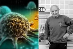 Šis vėžys nusinešė Antonovo gyvybę: pirmi simptomai primena peršalimą