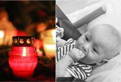 Mirė tūkstančius lietuvių sujaudinęs Kajus: mažylis išgyveno vos metus