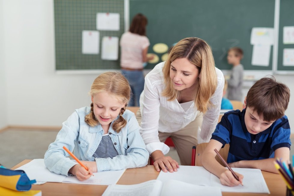 Mokykloje (nuotr. 123rf.com)