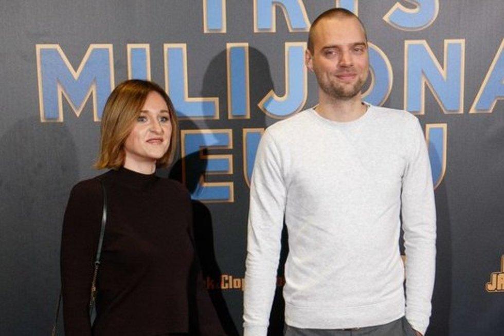 Tadas Vidmantas su žmona (nuotr. Tv3.lt/Ruslano Kondratjevo)