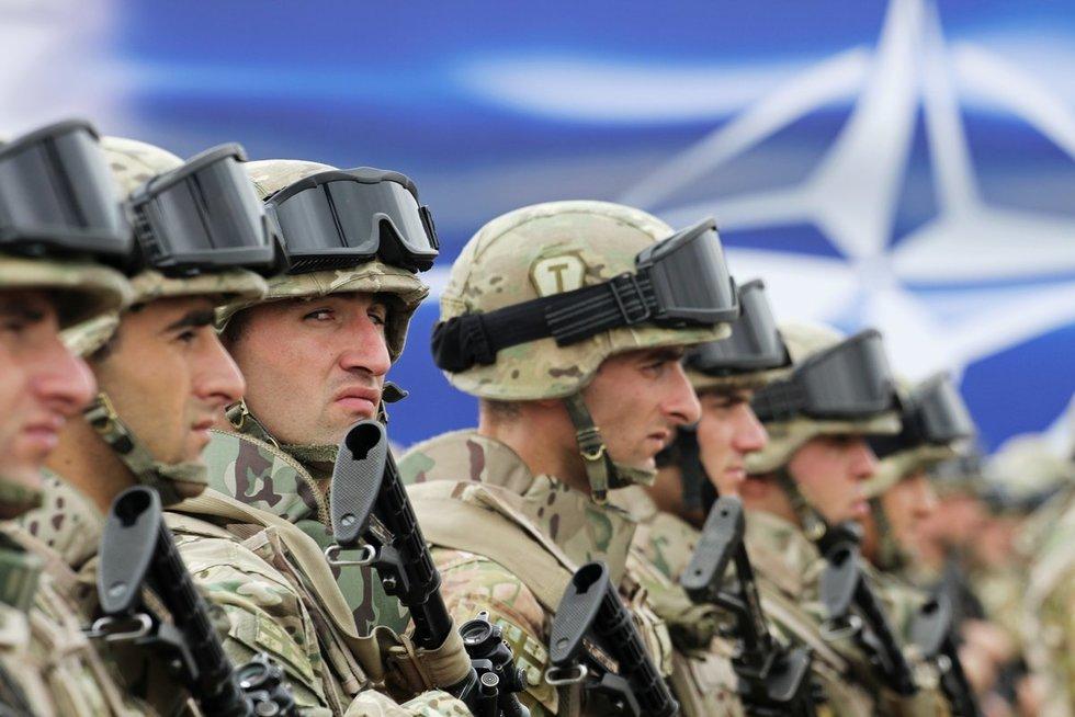 NATO greitojo reagavimo pajėgos (nuotr. SCANPIX)