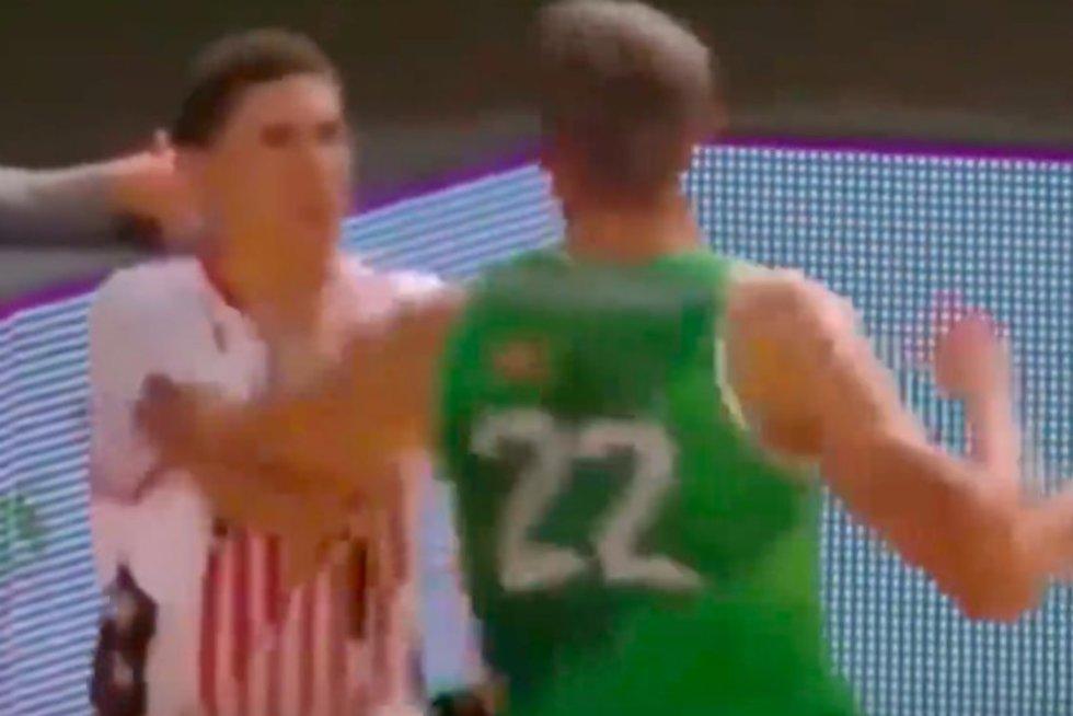 LaMelo Ballo ir Mindaugo Sušinsko muštynės (nuotr. YouTube)