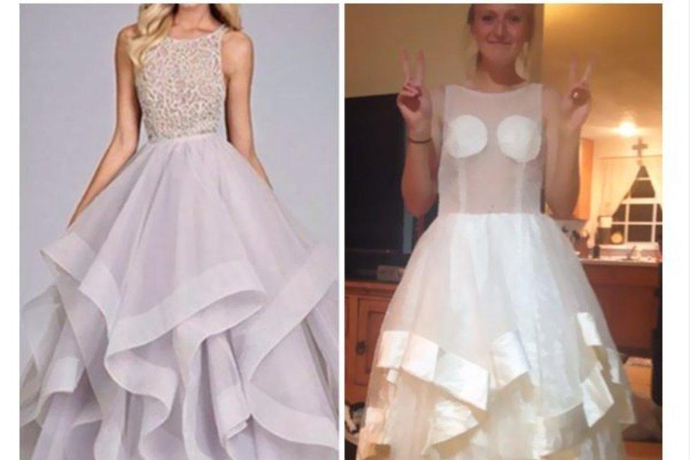 Suknelės internetu (boredpanda nuotr.) (nuotr. Twitter)