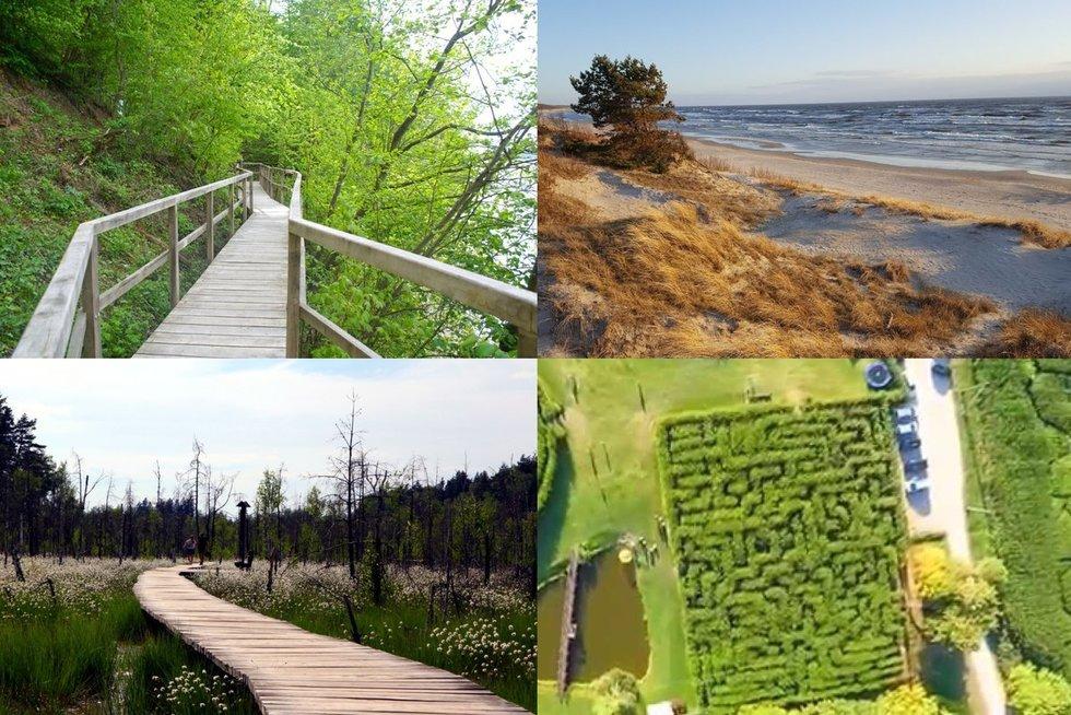 10 Neatrastų Lietuvos vietovių