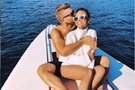 Evelina Young su vyru Adamu (nuotr. Instagram)
