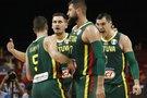 Rungtynių Lietuva-Prancūzija akimirka (nuotr. SCANPIX)