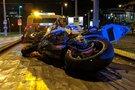Motociklas po eismo įvykio. Asociatyvi nuotrauka (nuotr. Broniaus Jablonsko)