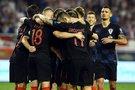 Kroatai šventė pergalę (nuotr. SCANPIX)