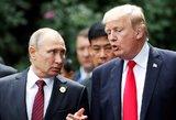 """JAV prezidentas: """"Vokietija yra Rusijos belaisvė"""""""