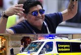Siautėjantis Maradona susidūrė akis į akį su mirtimi: nežada sustoti