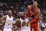 """""""Rockets"""" su D. Motiejūnu neatsilaikė prieš NBA čempionus"""