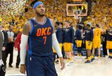 """Carmelo Anthony į """"Rockets"""" keliasi už minimalų atlyginimą"""