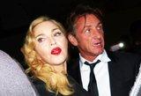 Pop karalienė Madonna ir aktorius Seanas Pennas vėl kartu