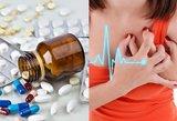 Populiarus vaistas gali sukelti infarktą: gydytoja grūmoja kumščiu