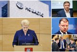Prezidentės D. Grybauskaitės metinis pranešimas: jeigu norime ką nors pakeisti – keiskime dabar
