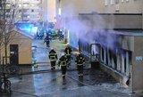 Švedijoje per mečetės padegimą sužeisti penki žmonės