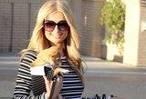 Rizika atsipirko: Paris Hilton labdaros renginiui pasirinko permatomą suknelę