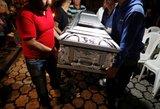 Po ugnikalnio išsiveržimo Gvatemaloje, lavonai nebetelpa morguose