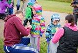 Psichologė: bėgimas suartina šeimą ir ugdo vaikų charakterį