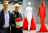 Vakaro karalienė: Inga Stumbrienė pritrenkė ekstravagantišku įvaizdžiu