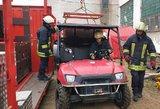 Alytaus gaisro kortos lieka neatverstos: tyrimas dėl gaisro pratęstas