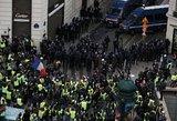 Įtampa Paryžiuje auga: gatvėse patruliuoja tūkstančiai specialiųjų tarnybų
