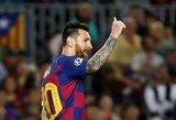 """Messi verdiktas – """"Barcai"""" svarbiau titulas Ispanijoje nei Čempionų lygoje"""