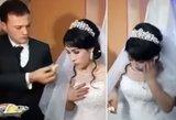 Vestuvės virto košmaru: jaunikis trenkė nuotakai į veidą