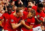 """Du skirtingi startai: """"Manchester United"""" keturiais įvarčiais nubloškė """"Chelsea"""""""