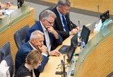 """Seimas priėmė """"šnipų mainų"""" įstatymą"""