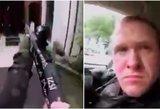 Sukrečiantis įrašas: Naujojoje Zelandijoje šaulys transliavo žudynes tiesiogiai