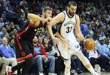 NBA mainų atgarsiai: Jonas Valančiūnas apsikeis komandomis su Marcu Gasoliu?