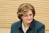 Seimo pirmininkė L. Graužinienė: aš labai myliu Lietuvos žmones