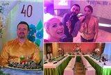 D. Zvonkui – gimtadienio šventė-siurprizas: 90-ųjų tema ir netikėta jubiliato reakcija