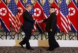 Trumpas pakeitė nuomonę dėl Šiaurės Korėjos