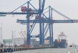 Pirmasis komercinis krovinys – jau netoli SGD terminalo